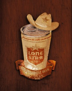 Lone Star Beer Sign, Circleville Store, Circleville, Texas