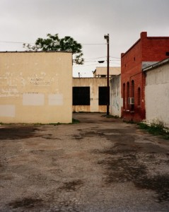 Parking Lot, Del Rio, Texas