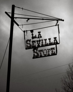 Store Sign, Devilla, Texas