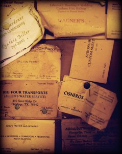 Old Business Cards